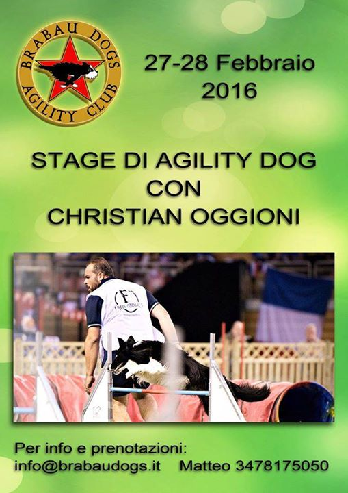 Stage agility dog con Christian Oggioni